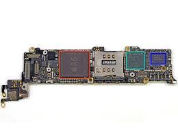 Apple A6 processor tear down