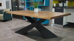 plan de travail cuisine bois brut inspirational table de cuisine pour table bois brut deco cuisine