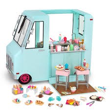 100 Chalks Truck Parts Sweet Stop Ice Cream 18inch Doll Our Generation