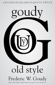 Goudy Old Style Posters