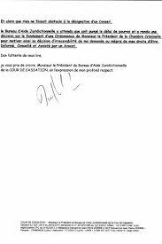 cour de cassation bureau d aide juridictionnelle cour de cassation monsieur le président du bureau d aide