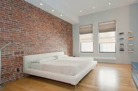 Brick Wall Decoration Ideas Exposed Bedroom Design Decor