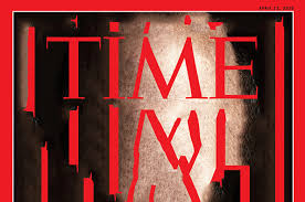 Content Aware Typography TIME Magazine Work Graphic Design