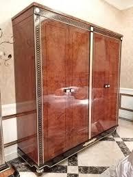 kleiderschrank schlafzimmer holz schrank antik stil barock rokoko schränke neu