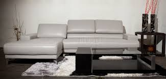 Sectional Sofa by Beverly Hills Furniture in Full Leather