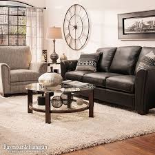 Catchy Black Leather Sofa Living Room Design 17 Best Ideas About