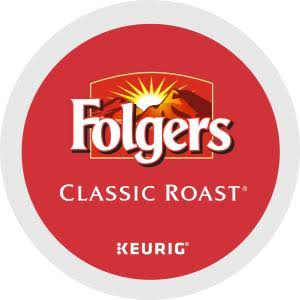 Folgers Gourmet Selections Keurig Brewers Single K-Cup - Classic Roast, 24ct