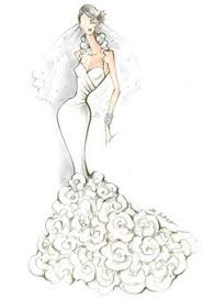 Designer Sketch By Pronovias Wedding Dress SketchesMarriage