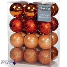 Ebay Christmas Tree Decorations by 24 X Christmas Tree Baubles Xmas Decoration Bauble 60mm