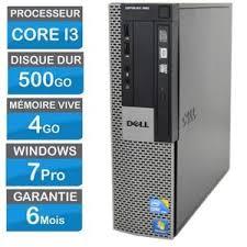 pc bureau reconditionné ordinateur de bureau reconditionne i3 prix pas cher cdiscount