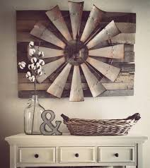 Apartments Best Rustic Wall Decor Ideas And Designs For Over Sized Windmill Barn Wood Clock Decorating Bathrooms Living Room Office Party Christmas Dining