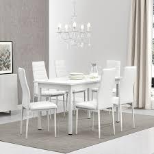 furniture en casa esstisch herford 140x60cm weiß wohnzimmer esszimmer tisch küche home furniture diy itkart org