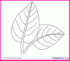 Printable Leaf Coloring Home Toonpeps Pages For Kids Oak Template Free Plants