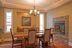 Electric Fireplace Ideas Dining Room Traditional With Animal Print Ceiling Lighting