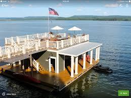 100 Lake Boat House Designs Dock Hartwell Floating House Boat Living