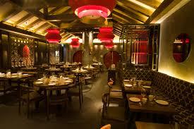 Simple Chinese Restaurant Interior Design Photo