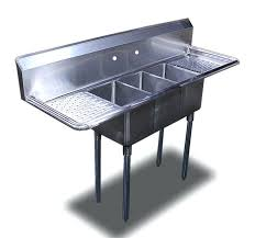 three compartment kitchen sink second floor