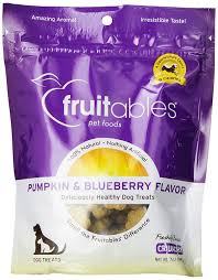 Dog Constipation Treatment Pumpkin by Amazon Com Fruitables Pumpkin U0026 Blueberry Crunchy Dog Treats 1 7
