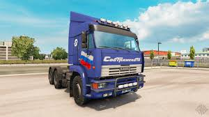 100 Euro Truck Simulator 3 KamAZ 6460 V2 For 2