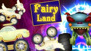 100 Monster Truck Videos Kids Haunted House Stuck In Fairy Land Kids Videos