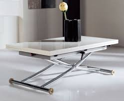 Lovable Collapsible Coffee Table With Transforming Folding To Save Space