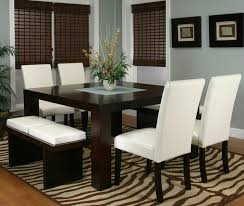 Kemper Two Cushion Bench Contemporary Dining Room