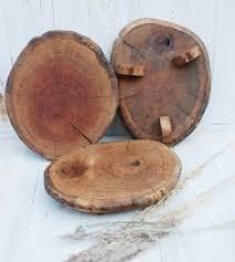 8 12 Inches Woodland Oak Cake Standwoodland Cupcake Standrustic Pedestalwoodland Pedestalwooden Food Plate