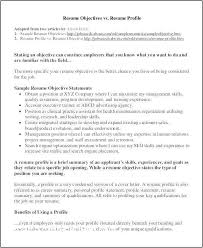 Professional Profile Resume Examples New How To Write On Free Summary