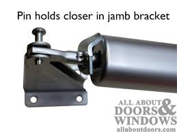 Installing and Adjusting Pneumatic Storm Door Closers