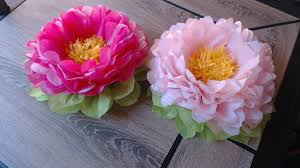 How To Make Tissue Paper Flower Super Easy Method Christmas Decoration