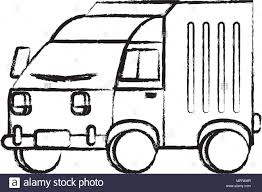 Sketch Of Delivery Truck Icon Over White Background, Vector ... Vector Delivery Truck Icon Isolated On White Background Royalty Stock Art More Images Of Adhesive Truck Icon Flat Free Image Designs Mein Mousepad Design Selbst Designen Style Illustration Delivery Image Clock Offering Getty 24 7 Website Button
