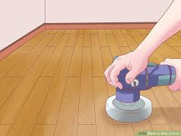Types Of Stone Flooring Wikipedia by How To Wax A Floor With Pictures Wikihow