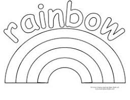 Printable Rainbow Coloring Page 19 Free Pages For