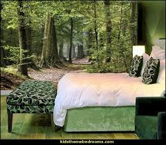 serenity wall mural forest wall mural tree wall murals mural for