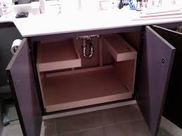 Pedestal Sink Storage Solutions by Under Sink Storage Bathroom Dact Us