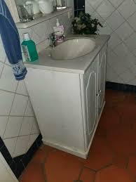 badezimmerschrank waschtisch spiegel kiefer weiß