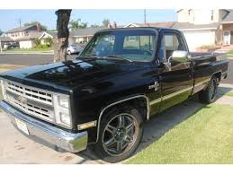 100 Classic Chevrolet Trucks For Sale 1987 Silverado 1500 Car Huntington