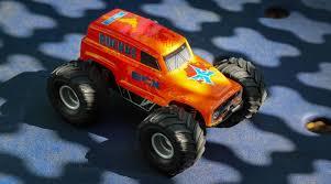 100 Micro Truck 128 Ruckus 2WD Monster RTR Orange HorizonHobby