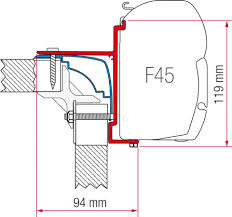 Fiamma Awning Kit Burstner And Hobby Adapter Bracket F45s Fiamma Awning Bromame F45s Fiamma Awning View Topic Image May Have Been Ruced Installation Faroutride Thesambacom Vanagon Topic Ae Horizon Wind Out On Ptopcali Rail Vw T4 Forum T5 Wall Brackets For Legs Kit 98655176 Ebay F35 Adapter California Adaptors Or Canopy Pro Supply Costs Self Fit Fixing F45 F45ti F45til Motorhome Rapido Bracket Caravan Mercedes Sprinter Highroof