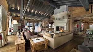 Rustic Living Room With Restoration Hardware Bertrand Side Table Uttermost Davoli Dark Bronze Urn