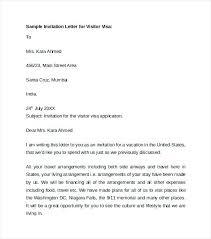 Invitation Letter Visitor Visa Romania Invitation Sample