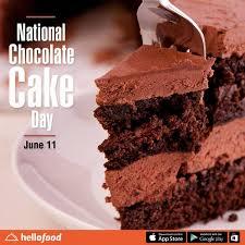 National Chocolate Cake Day June 11