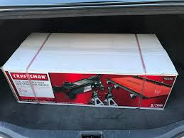 Aluminum Floor Jack 3 Ton by Craftsman 3 Ton Floor Jack With Jack Stands And Creeper For 108