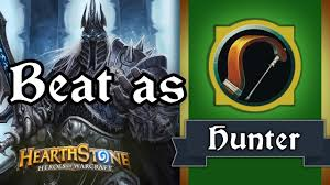 Hunter Hearthstone Deck Kft by Hearthstone How To Beat Lk As Hunter Standard Youtube