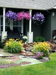 Rustic Garden Ideas Flowers Yellow Purple Water Design Grass Australian