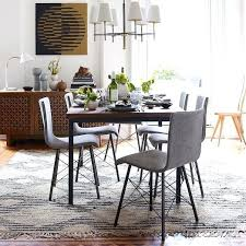 Industrial Dining Set Table West Elm I Like These Chairs