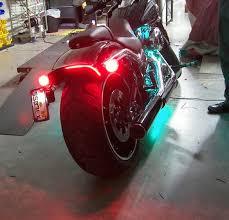 Harley Davidson Light Bar by Harley Davidson Breakout Under The Fender Led Brake Light Turn