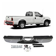 100 2007 Ford Truck Amazoncom MBI AUTO Chrome Steel Rear Step Bumper Assembly For