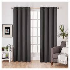 Target Blackout Curtains Smell by Charcoal Grey Blackout Curtains Target