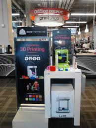 fice Depot stores begin to carry 3D Systems Cube 3D printers